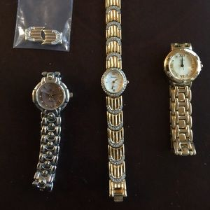3 women's watches